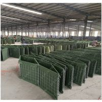 ZERUN MIL Hesco Bastion Barrier Sand Wall Military Hesco Flood Barriers Prices For Sale