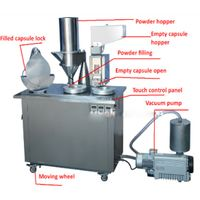 Semi-automatic capsule powder filling machine
