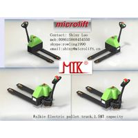 Walkie Electric Pallet Truck factory, Microlift or OEM brand, ET15 model, 1.5MT capacity, 540/685mm