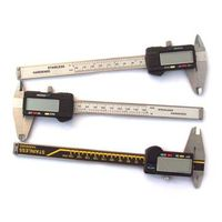 Left hand Electronic Digital Vernier Caliper and Electric Calliper Gauge Big Lcd Measuring Tools thumbnail image