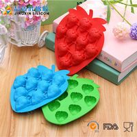 leaf shape silicone cake mould