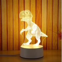 Children's animation Dragons balls 7 colors led 3d led illusion night light lamp Children thumbnail image