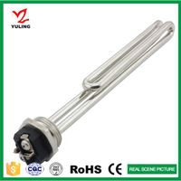 foldback heating element for electric water heater