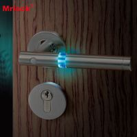 Fantastic fireflies shiny guide at darkness night safety door lock handle N1-101