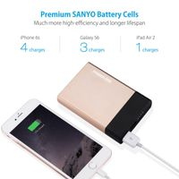 Poweradd Universal Power Bank Charger 10000mAh External Battery Pack