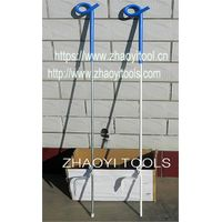 PP02 pigtail top portable step-in paddock fencing posts