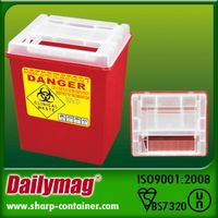 Medical Disposable Sharp Container 8.0L
