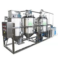 Mature Technology Palm Kernel Oil Refining Line From China