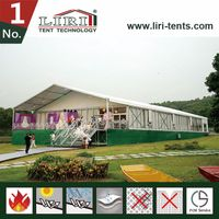 Party tent canopy high end event marquee with clear windows from Liri Tent