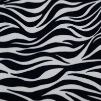 Animal skin pattern ef velboa fabric made in South Korea