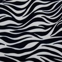 Animal skin pattern ef velboa fabric made in South Korea