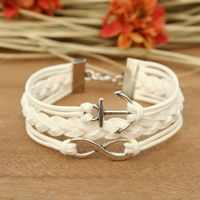 Whoesale friendship bracelets, high fashion infinity charm bracelet