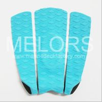 Melors Marine Board Traction Grip Pad EVA Foam Tail Pad Durable Surfing Pad