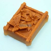 The Butterfly Flower Soap Mold Silicone Mold Handmade Mold  AC001