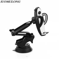 Factory 2020 new foldable ajustable dashboard car phone holder
