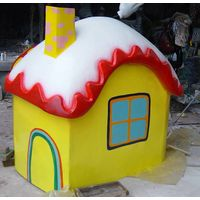 Outdoor Decoration of Small House Sculpture for Sale thumbnail image