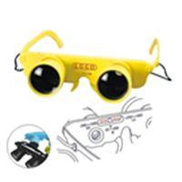 Head-Wearing 3x28 Glasses Style Binoculars For Hiking Fishing Concert