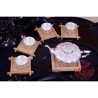 Pure Silver Craft Tea Set