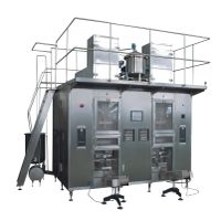 Automatic paper and aluminum laminated film aseptic pillow-shaped filling machine thumbnail image