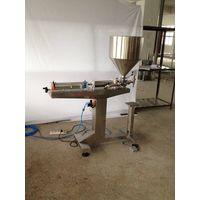 Vertical type paste filling machine