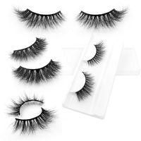 3D Mink Eyelashes, Siberian Strip Eyelashes Wholesale Price