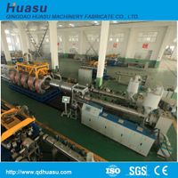 PE/PP Double Wall Corrugated Pipe Extrusion Line