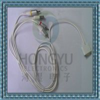 ac video and stereo audio power cable for ipod shuffle/ ipad/iphone thumbnail image
