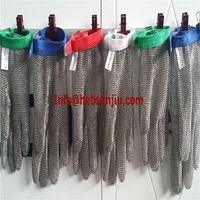 Chain mail glove/Butcher glove/Metal mesh glove/Ring mesh glove/Stainless steel glove