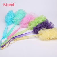 Manufacturer Body Brush Long Handle Shower Sponge Bath Puff On A Stick For Body Wash thumbnail image