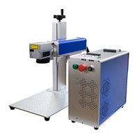 Small MOPA Color Fiber Laser Marking Machine