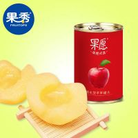 Canned apple, sugar water, fresh fruit, canned leisure food, ready to eat for children