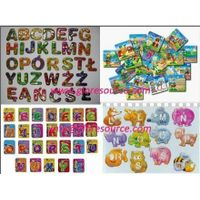 supply magnetic letters, magnetic alphabets, magnetic numbers