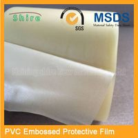 pvc embossed protective film for speaker/sound box