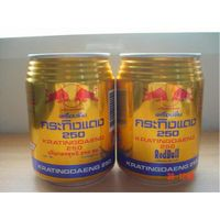 Kratingdaeng Thai Red Bull Energy Drink gold can