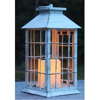 Metal Lantern with LED Candle thumbnail image