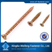 Top quality concrete screw zinc plated manufacturer supplier good screw window screw