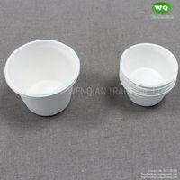 Biodegradable Sugarcane Pulp Sauce Cups 2/5/12 Oz