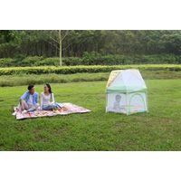 large 6 panel holiday outdoor travel baby safety pop n ' play yard playard playpen for babies thumbnail image