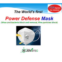 Power Defense Mask (FDA, Virus & bacteria block & removal, Fine particles block)