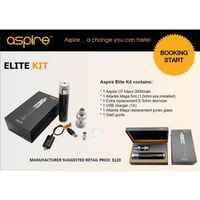Aspire Elite Kit CF Maxx 50w Mod Kit and Atlantis Mega 5ml Tank Aspire Elite Kit