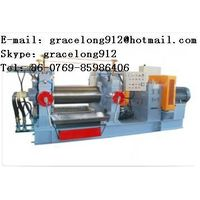XH-400 open rubber mixing mill with stock blender thumbnail image