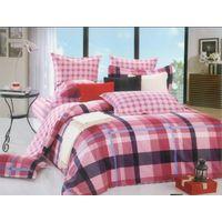 Noeffie Home Textile 100% Cotton Twill Bedding sets 4sets Flat Sheet Duvet Cover
