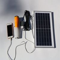 6W Solar Mobile Phone Charger for iPad Electric Book thumbnail image