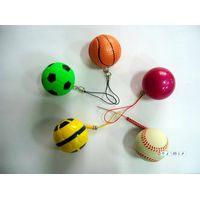 rubber foam toy ball