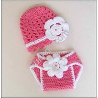 Unisex Newborn Boy Girl Crochet