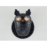 Children's Bedroom Deco Animal Owl Wall Lamp