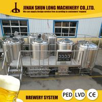 new 500l 800l 1000l 5000l beer brewery equipment, beer brewing equipment, beer making machine