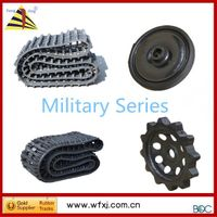 Rubber track for All terrain vehicles Hagglunds BV206