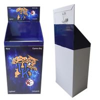 Point of Sale Cardboard Display Dump Bins