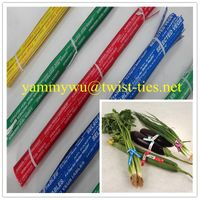 paper vegetable twist ties